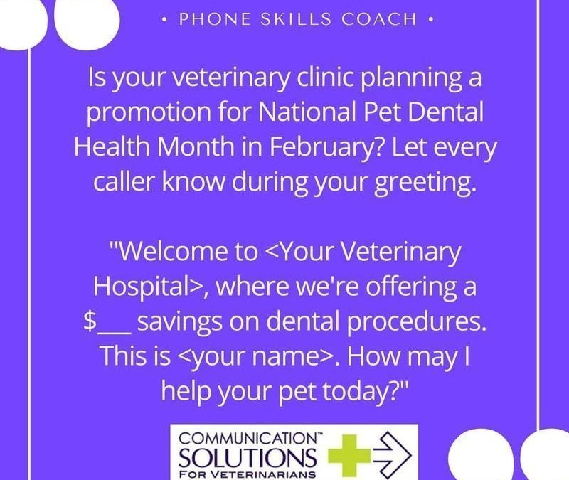 Do you offer promotions during dental month?